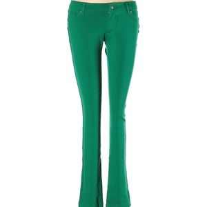 Chocolate Green Skinny Leg Pants M